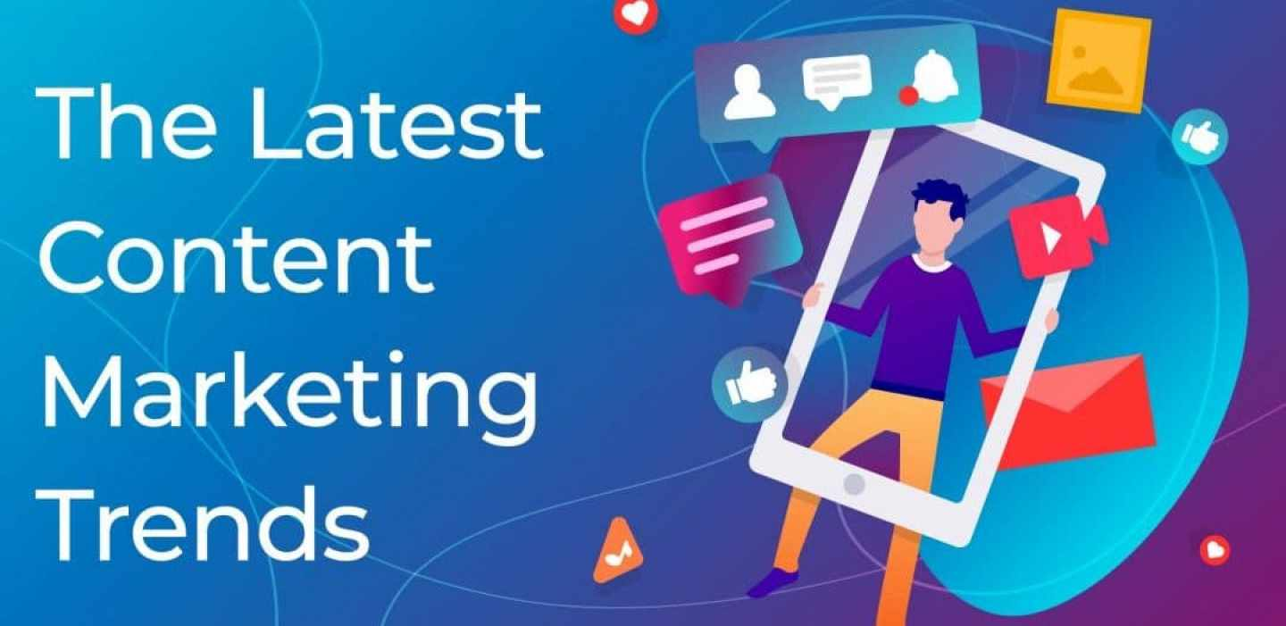 The latest Content Marketing Trends