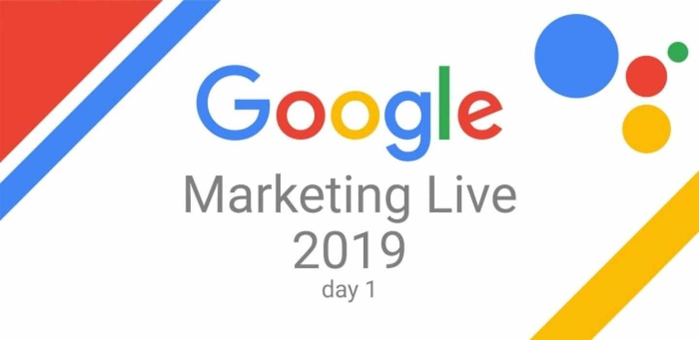 Google Marketing Live 2019 day 1 banner